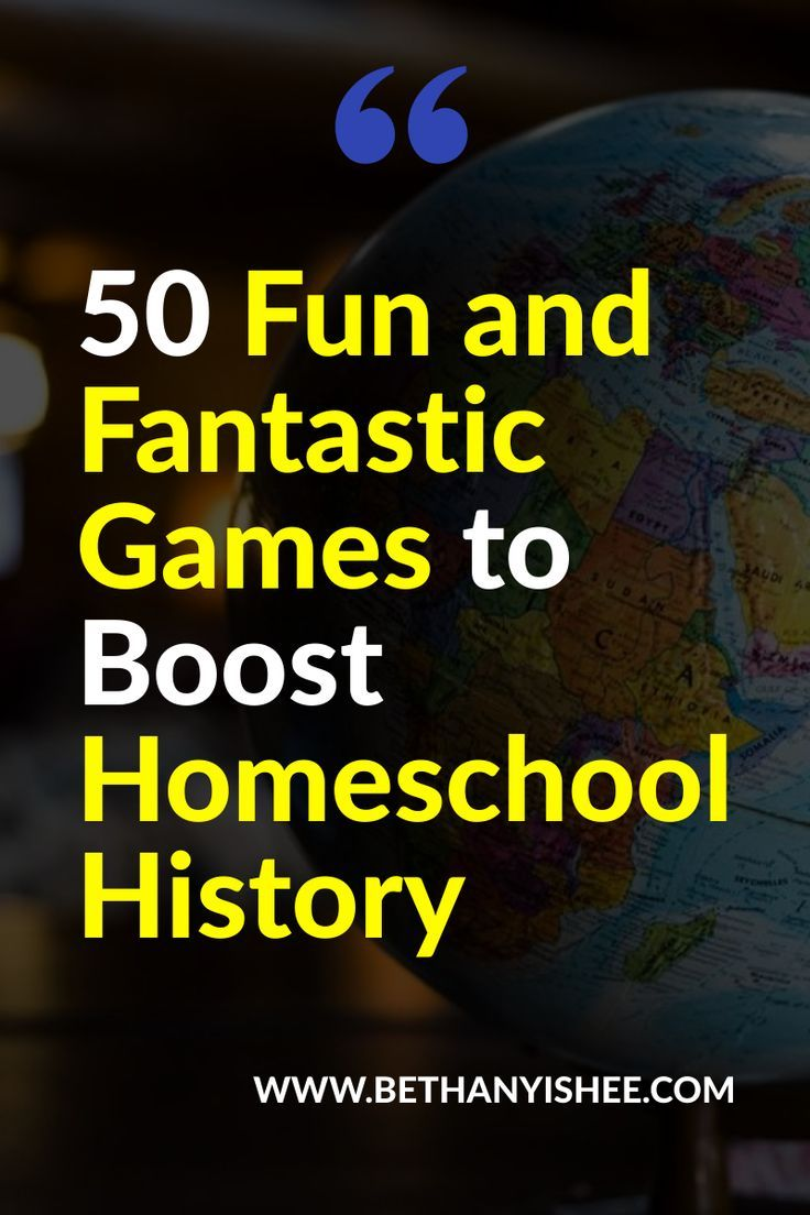 Photo of 50 Fun and Fantastic Games to Boost Homeschool History