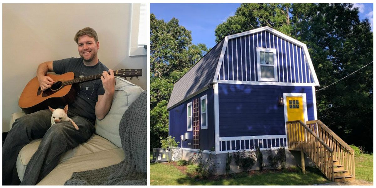 I Wanted To Live In A Tiny House But I M 6 4 So I Came Up With A
