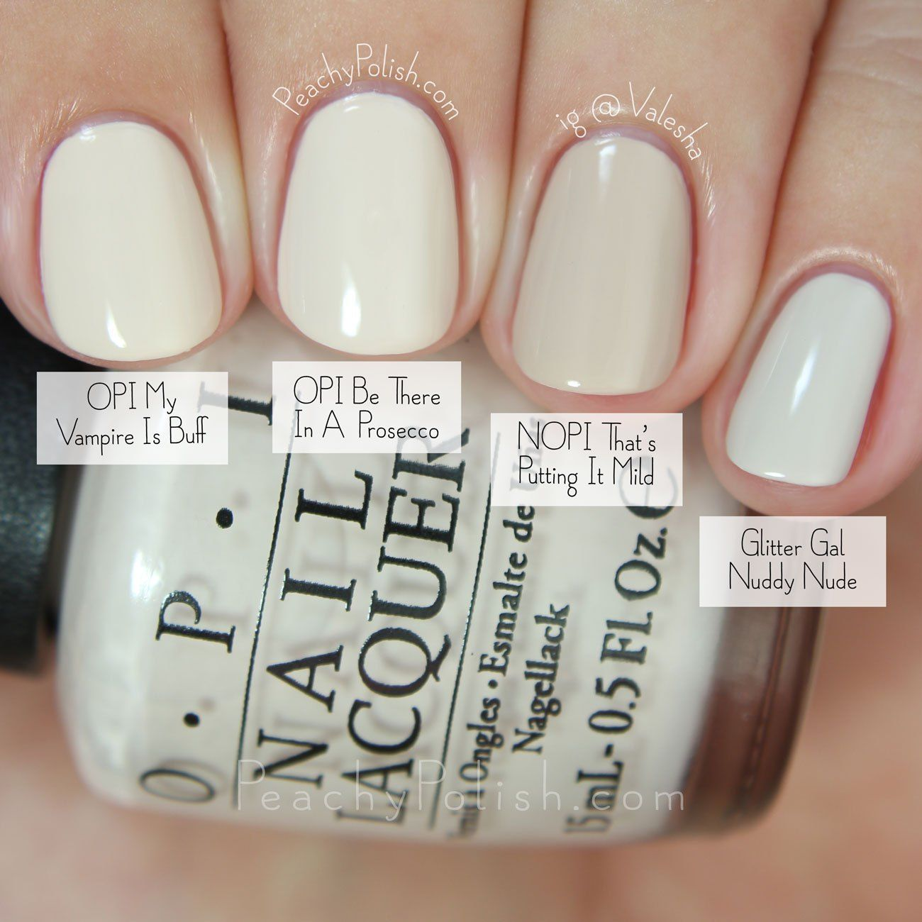 OPI Be There In A Prosecco Comparison | Fall 2015 Venice Collection ...