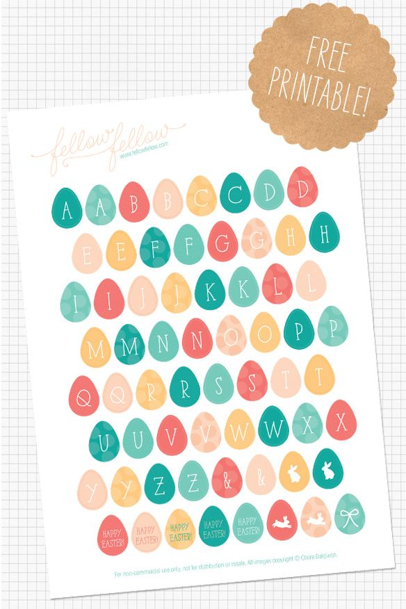 Free printable alphabet stickers free printables and for Print letter stickers