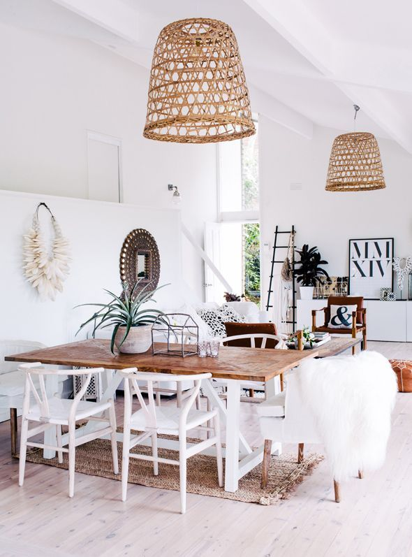 Go Natural | Image Via Adore Home Magazine