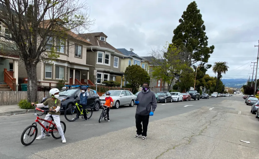 Oakland closing streets to give people a place to go with