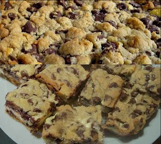 recipes & recipes: Chocolate Chip Cookie Cheesecake