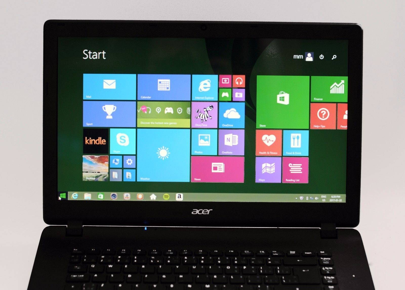 "Acer ES1-511-C35L Laptop 15.6"" Display N3530 Quad 2.16Ghz 4GB Ram Win 8.1 2014"