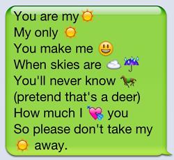 Love Song Lyrics In Emoji Texts Emoji Texts Paragraphs For Him Funny Texts