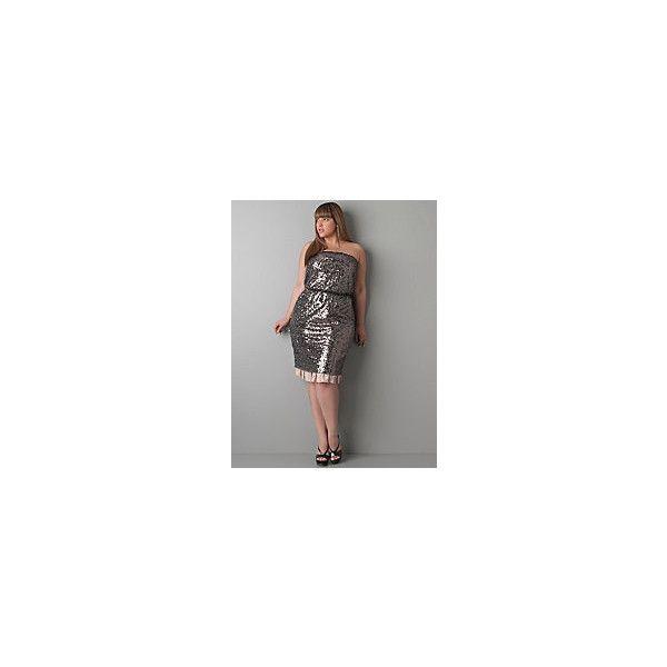 Plus size dkny dress