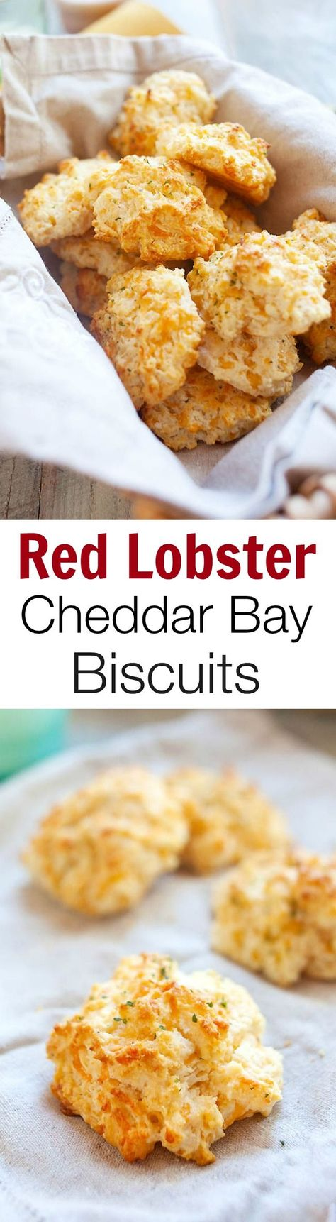 Red Lobster cheddar bay biscuits copycat close to the