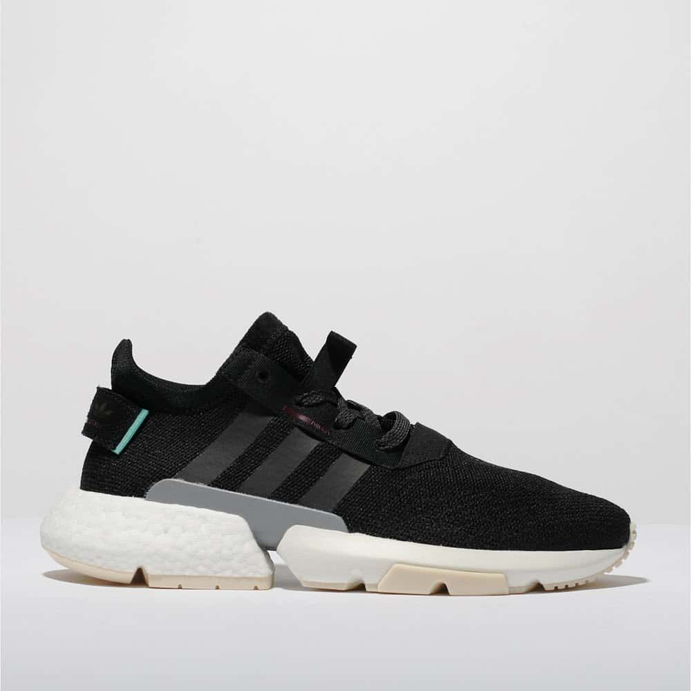 the best attitude 0295c 21b10 womens black adidas pod s3.1 trainers  schuh