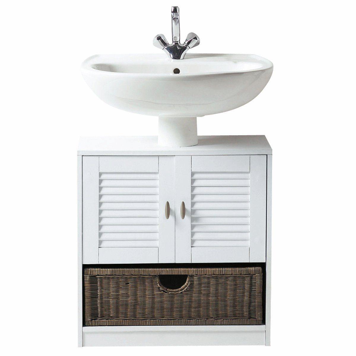 meuble salle de bain sous lavabo colonne