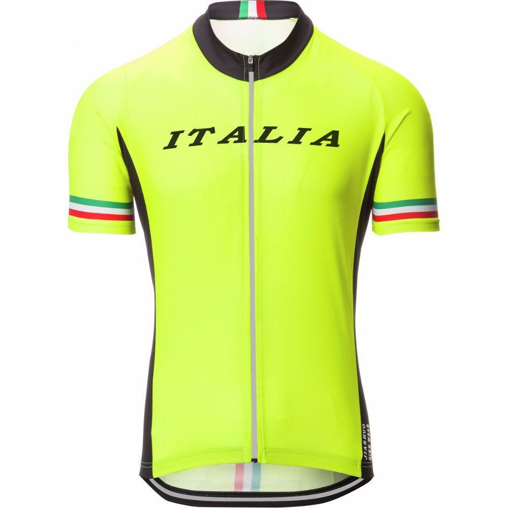 High Visibility Italia Cycling Jersey Cycling Outfit Sport