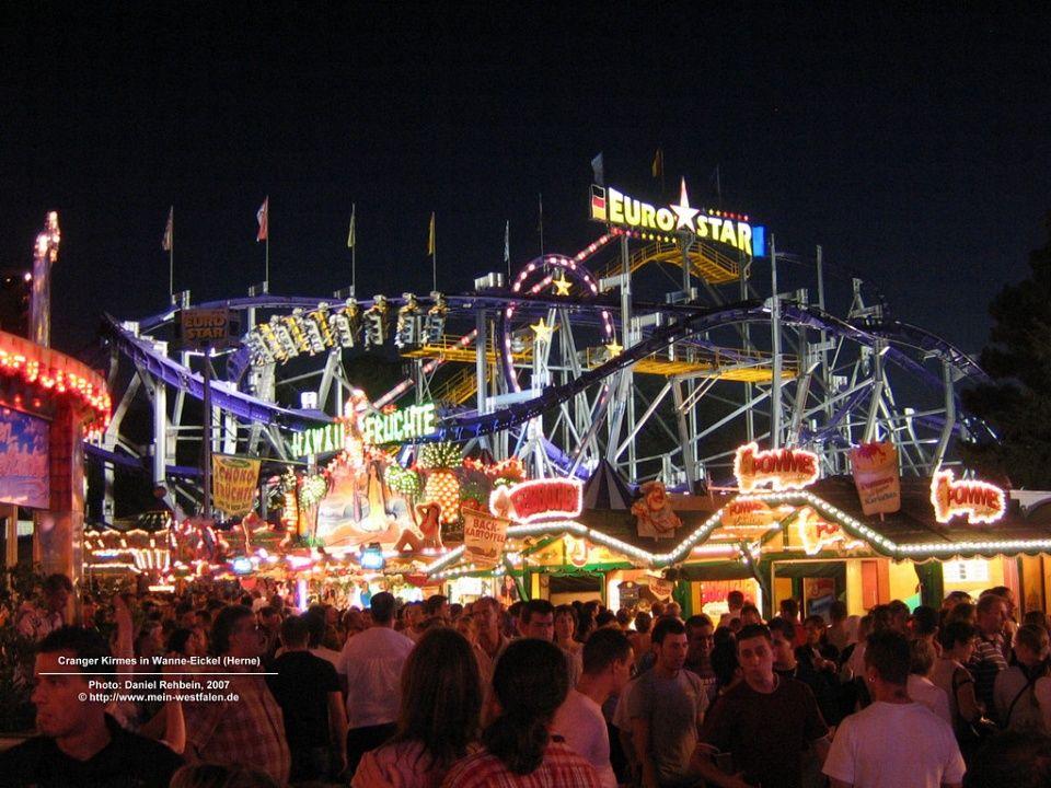 Roller coaster Westfalen Roller coaster, Herne, Image