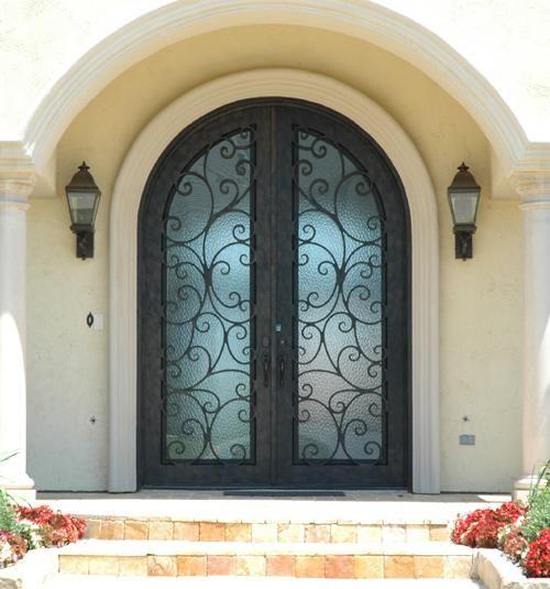 Wrought Iron Door Factory Wholesale Fd-196 - Buy Wrought Iron Door ...
