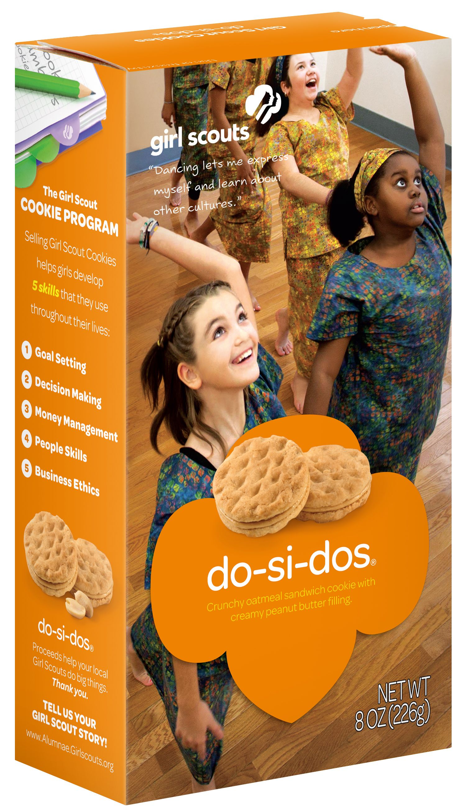 Girl scout cookies do si dos