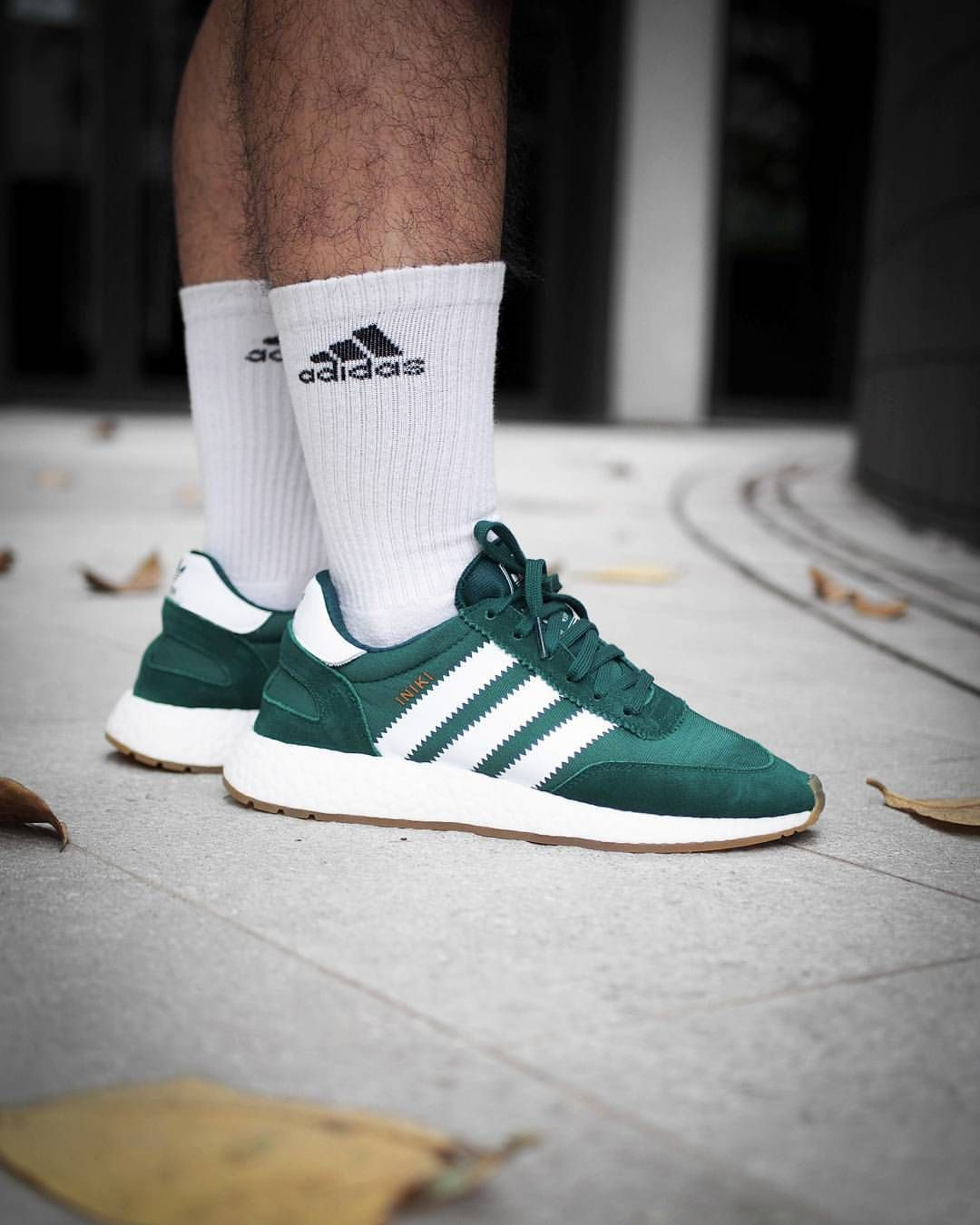 adidas Originals Iniki Runner: Green | Sneakers, Mens