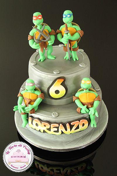 Tmnt Cake Interesting Color Combo Tmnt Cake Cake Design Ninja Turtle Cake