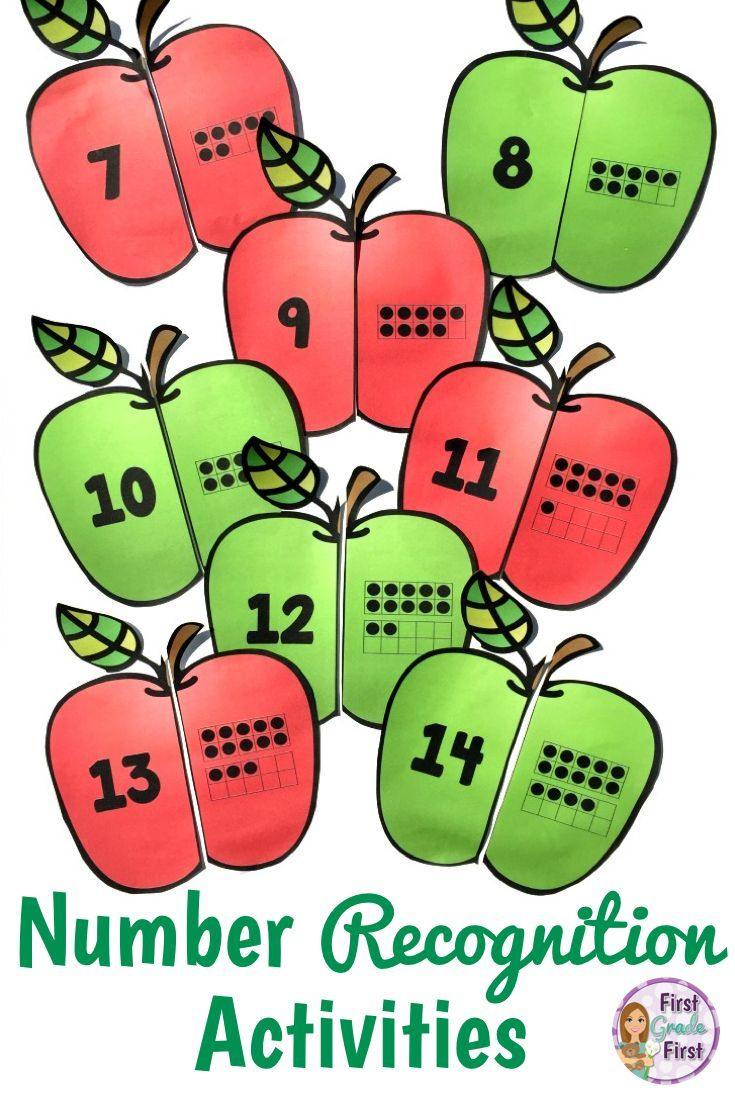 Numbers 1-20 Worksheets and Centers | Worksheets, Kindergarten and ...