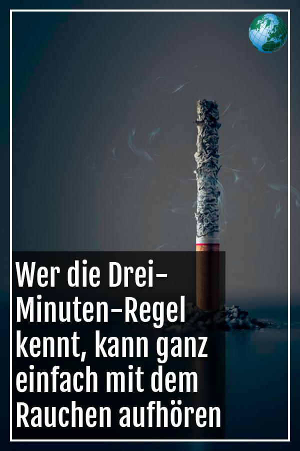 Rauchen aufhoren 3 minuten regel