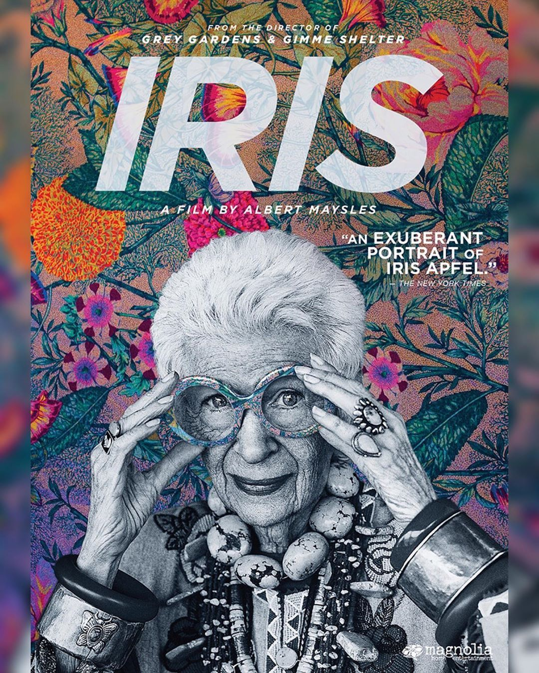 29 4k Likes 415 Comments Iris Apfel Iris Apfel On Instagram Are You Quarantined And Needing Something To Watch I 2020 Iris Apfel Affisch Design Filmaffischer