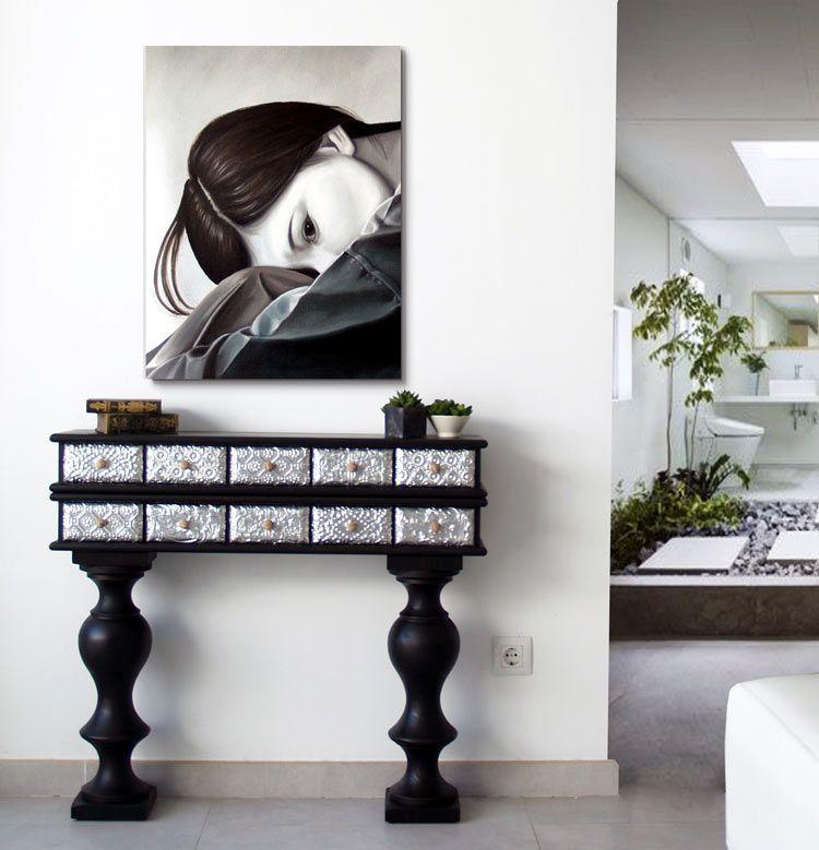 Tienda consolas entraditas cuadros de autor pinterest - Entradas modernas muebles ...