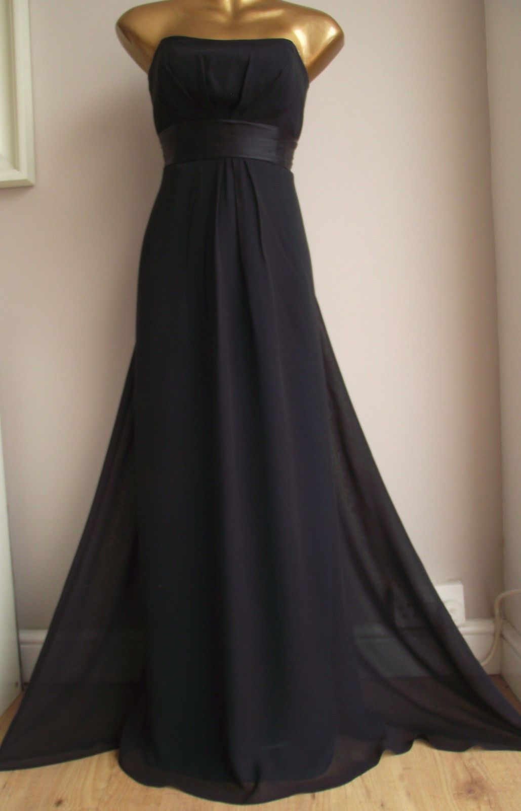 Cool amazing monsoon silk black green lined occasion eve cruise