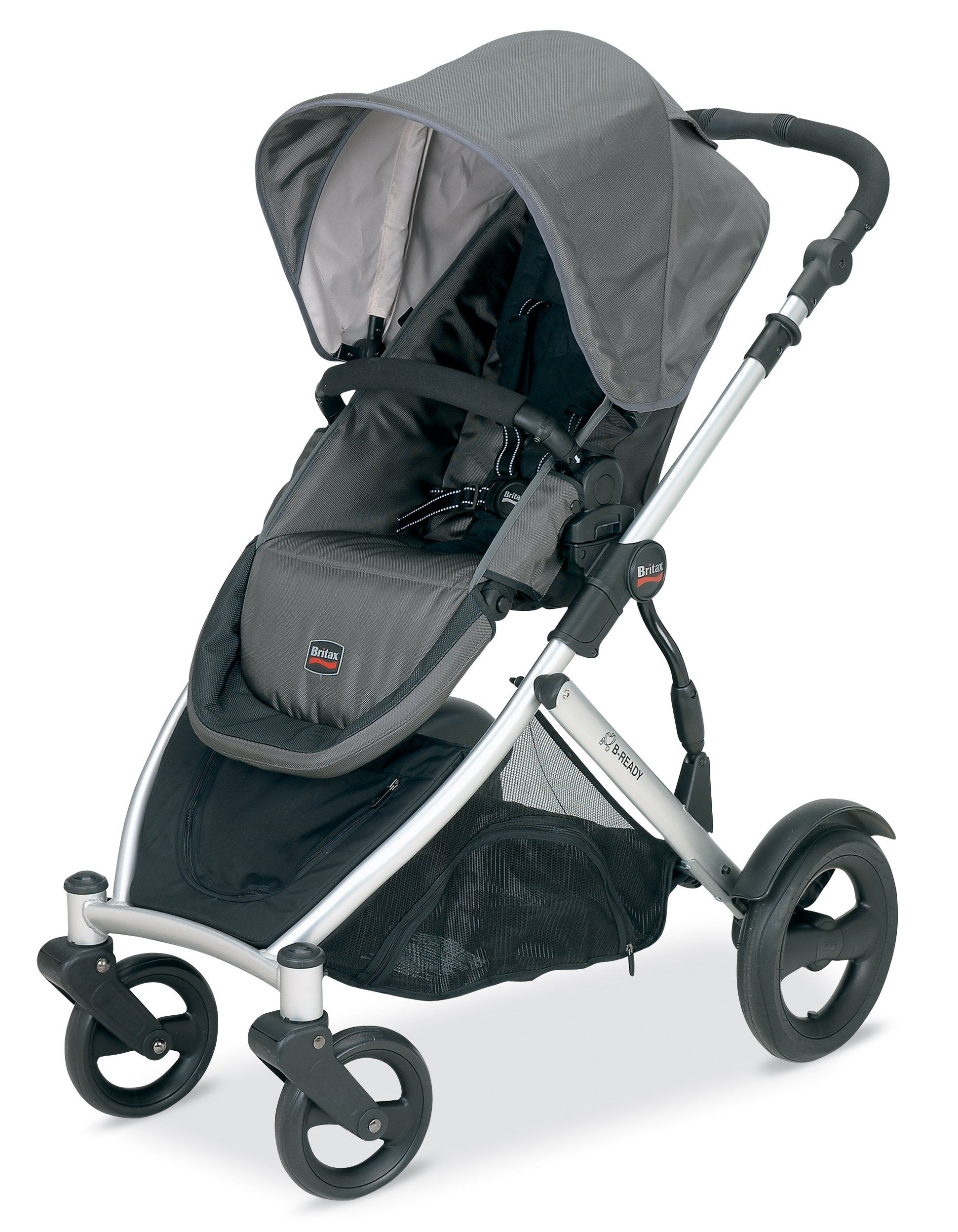 Britax BReady Stroller, Slate Infant Car
