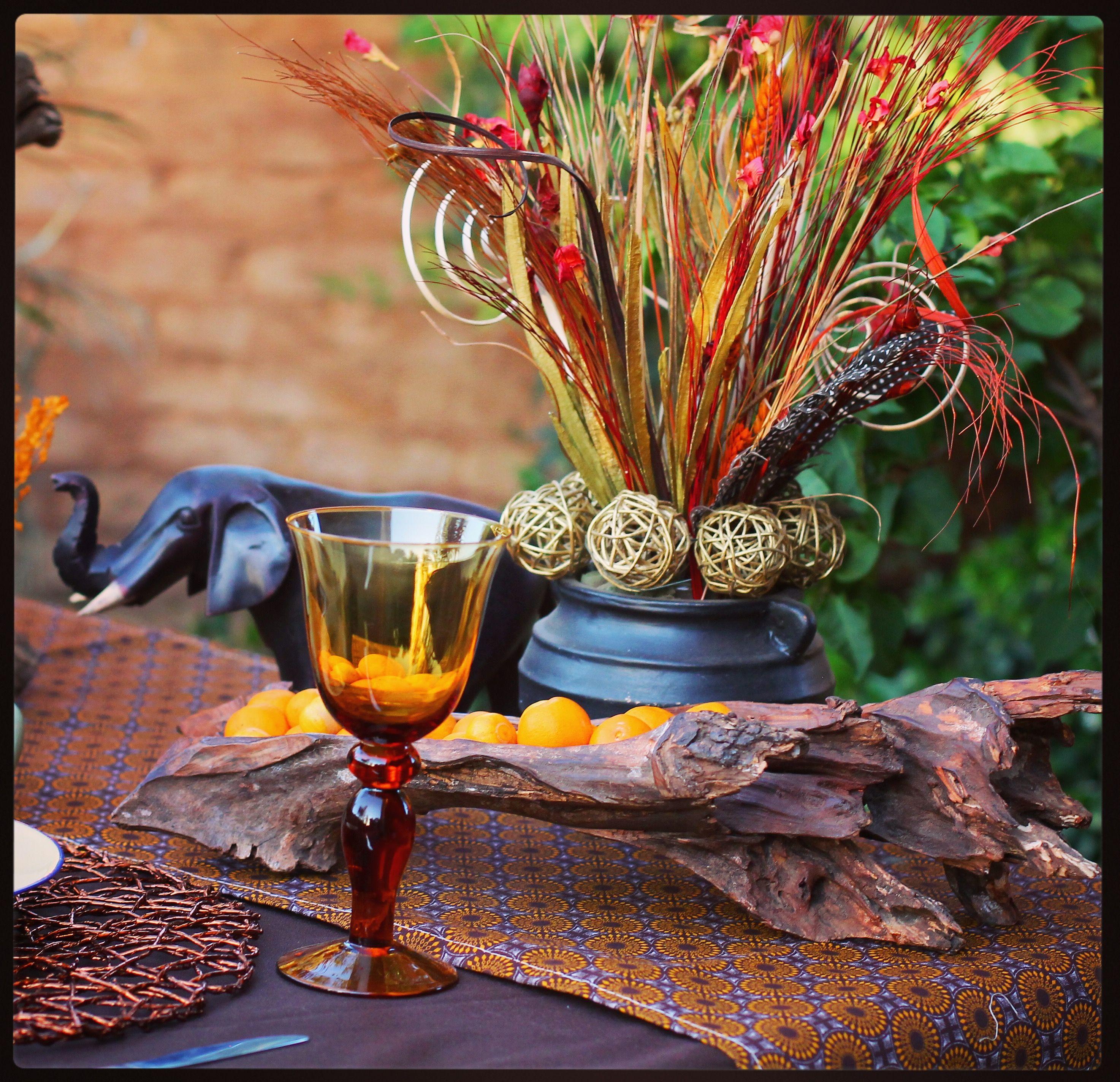Traditional African Wedding Decor Zulu Ideas Centerpieces