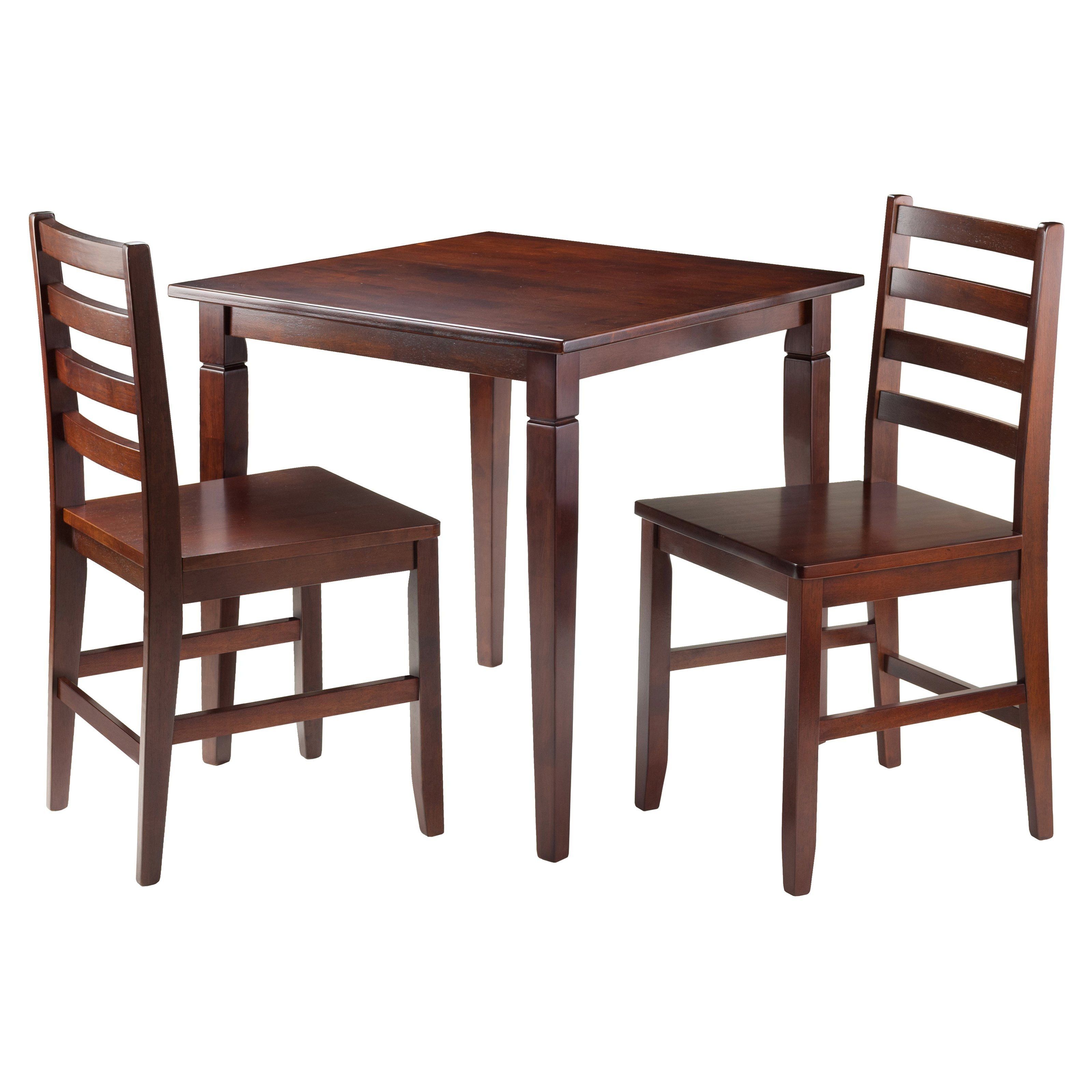 Have To Have Itwinsome Trading Kingsgate 3 Piece Dining Table Delectable 3 Piece Kitchen Table Set Design Decoration