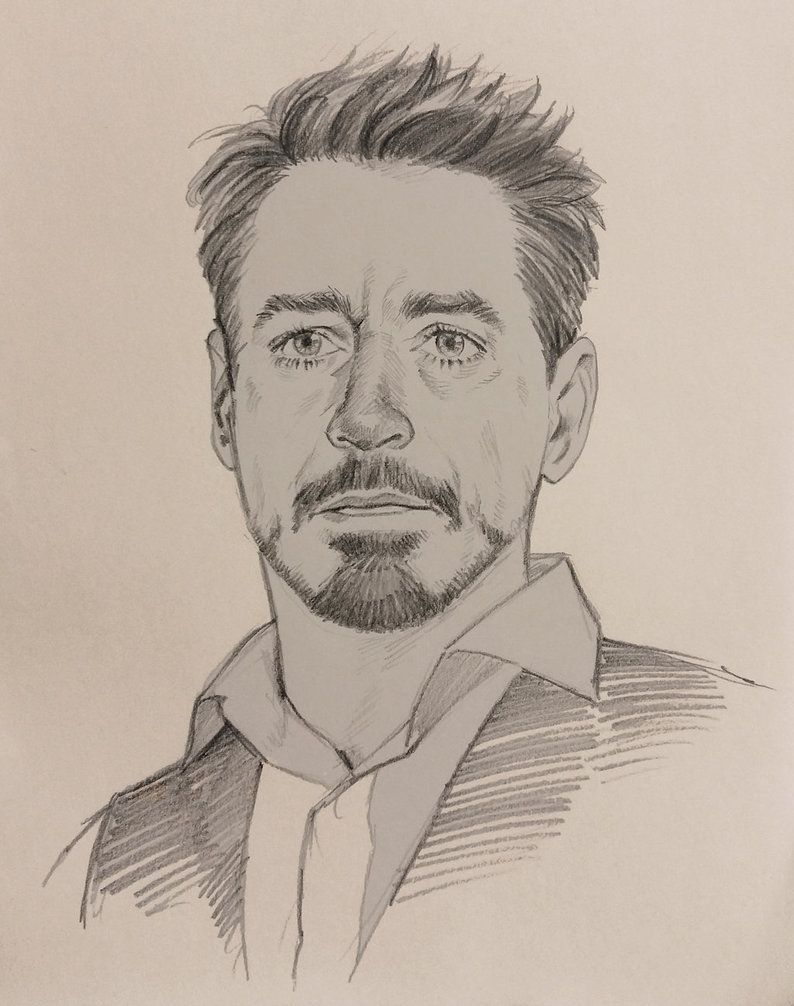 I doodled it during a break time. Drawing Robert's handsome face gives me to peace of mind........=////=