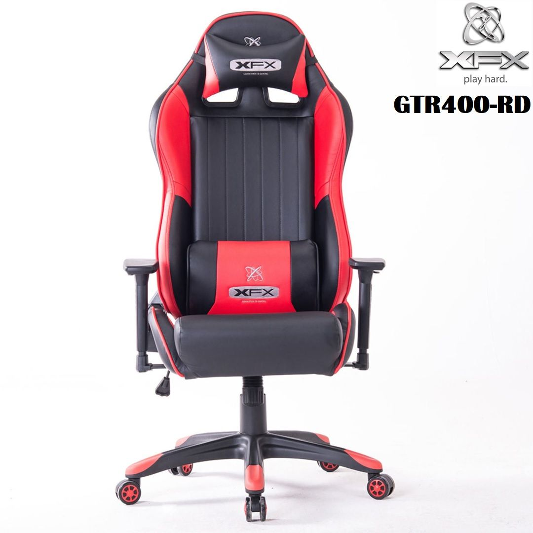 Excellent Xfx Gtr400 Faux Leather Gaming Chair Headrest Pillow Caraccident5 Cool Chair Designs And Ideas Caraccident5Info