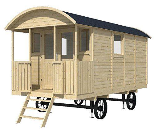 Bauwagen l wenzahn 240 x 500cm gartenhaus 19mm holzhaus anh nger tiny houses kleine h user - Gartenhaus mobel ...