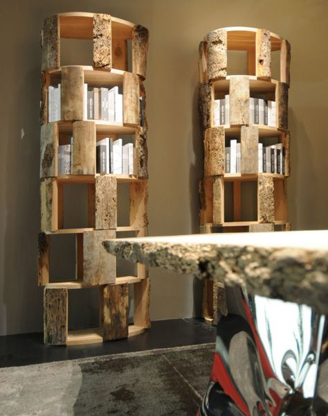 Libreria Il Briccolone di Riva 1920 | Design: Michele De Lucchi Anno: 2011 | Materiali: Rovere