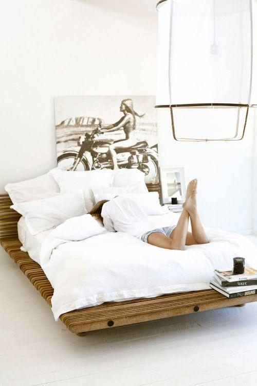 me gusta la tabla de la cama...   Casa   Pinterest   La cama, Tabla ...