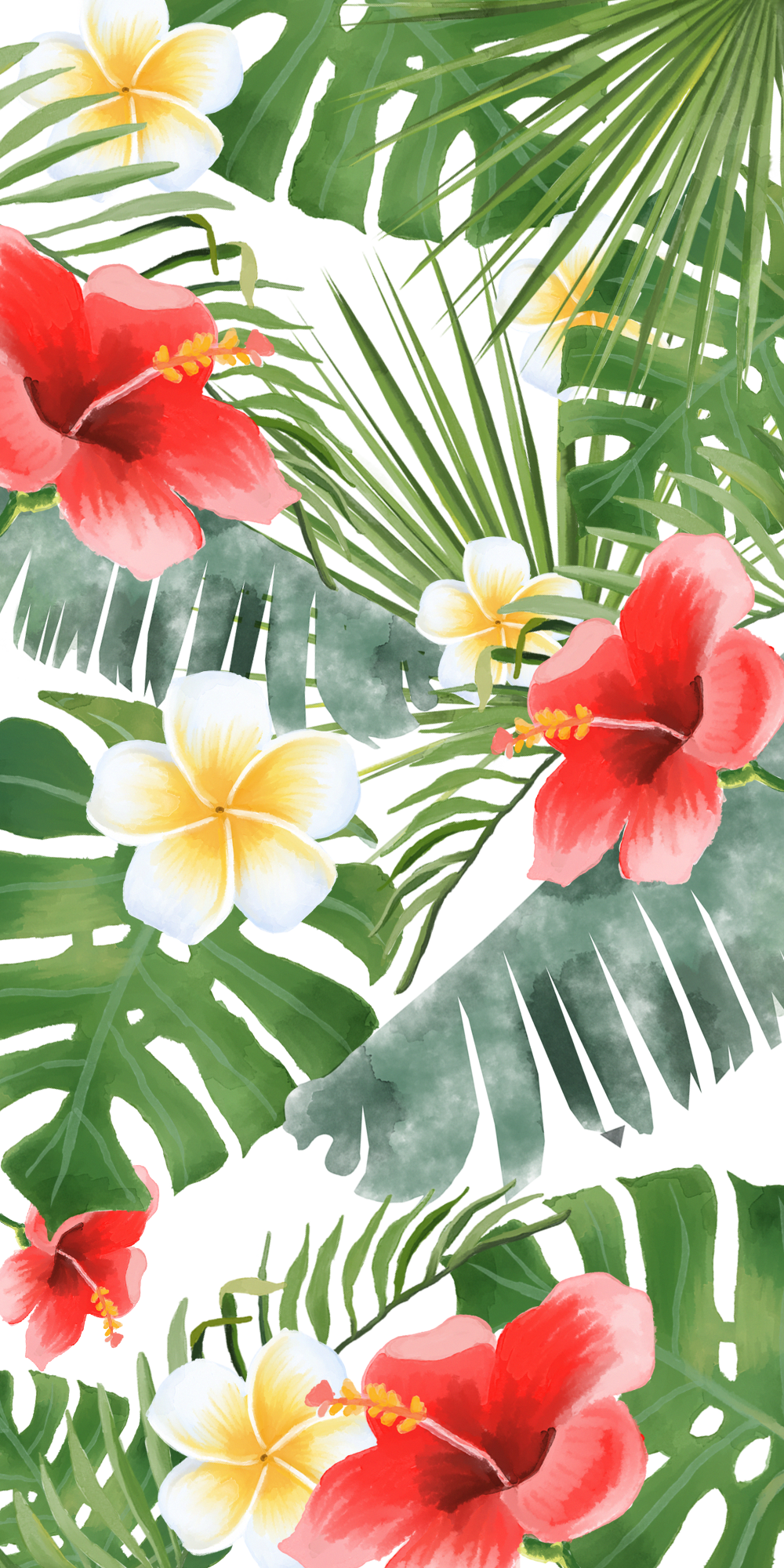 If You Re Into Tropical Vibes Casetify Iphone Flowers Floral Beautiful Color Inspi Iphone Wallpaper Tropical Floral Wallpaper Iphone Floral Wallpaper