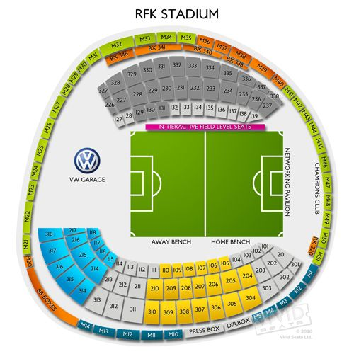 Rfk Stadium Tickets Rfk Stadium Information Rfk Stadium Seating Chart Stadium Ticket Seating Charts
