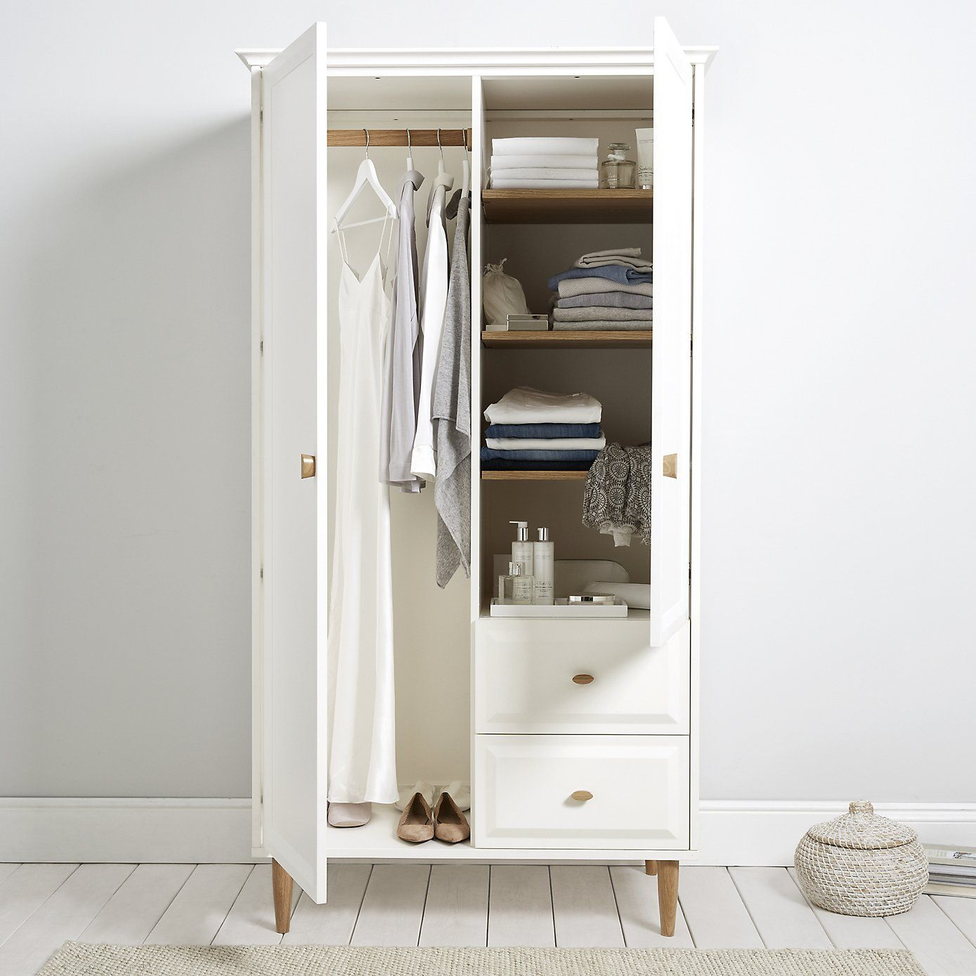 ercol devon small wardrobe from the white company - Small Wardrobe