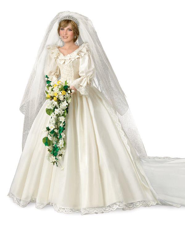 Princess Diana Commemorative Bride Doll from Ashton-Drake Galleries