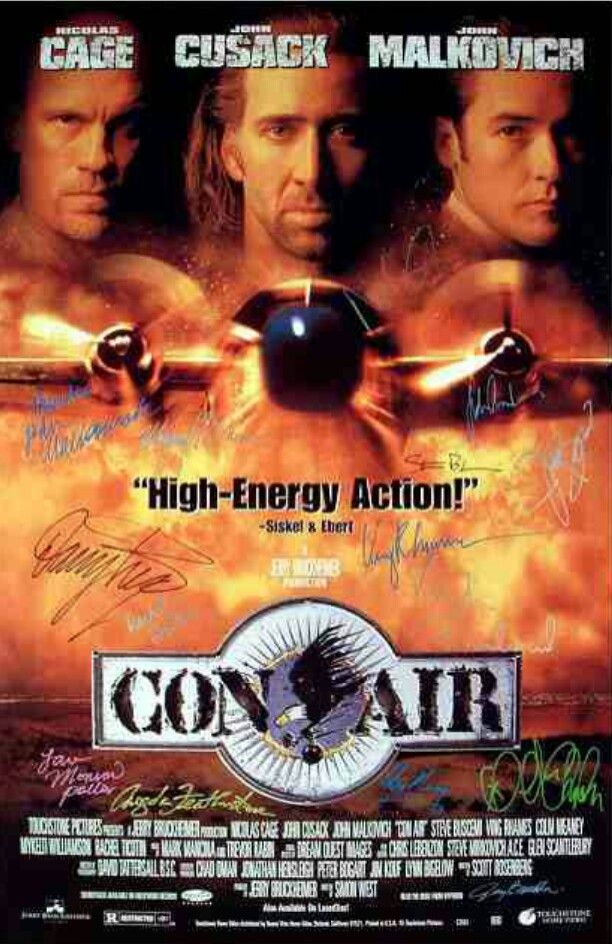 Con Air 1997 Air Movie Great Movies To Watch Action Film