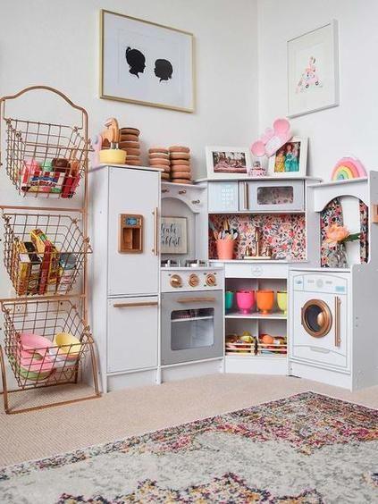 13 Ideas para ordenar los juguetes de los peques Pinterest