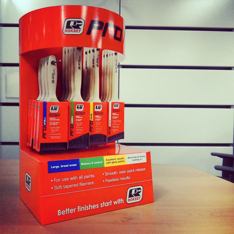 Rokset Paint Brush Display Escova Displays
