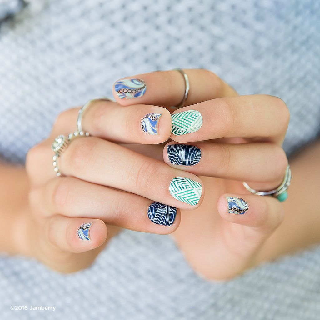 Bubbler_EverGlam_HighTideSMS | Jamberry, Jamberry nails and Manicure