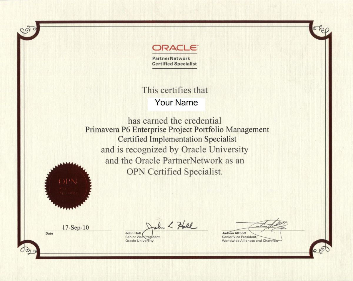 How To Start Learning Oracle Primavera P6 And Get Primavera Certified Specialist Certificate Portfolio Management Project Management Professional Oracle University