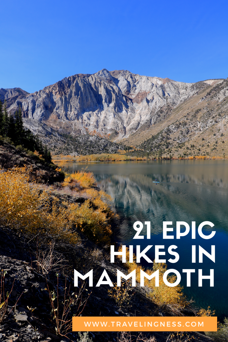 21 Epic Hikes In Mammoth Lakes #usatravel