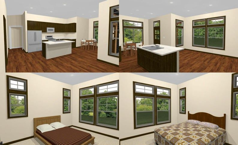 36x32 House 2Bedroom 2Bath 1,082 sq ft PDF
