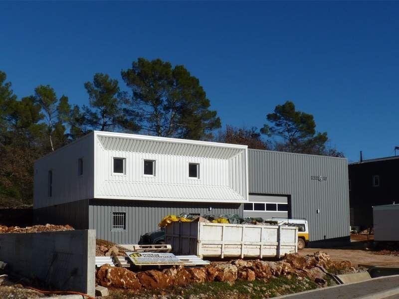 Projet du0027un atelier et logement bâtiment industriel à ossature et - plan maison structure metallique