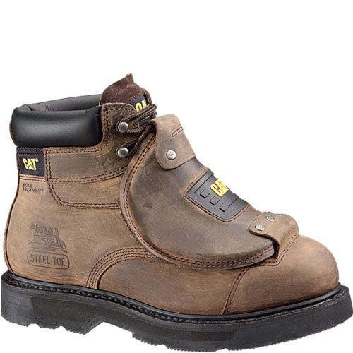 e2a8c4d1f45fe 89311 Caterpillar Men's Assault Met Guard Safety Boots - Brown ...