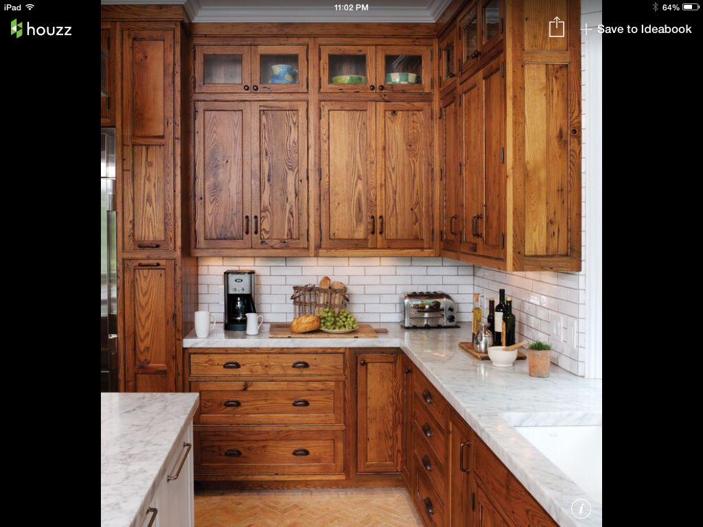 Future kitchen add white farmhouse sink Kitchen