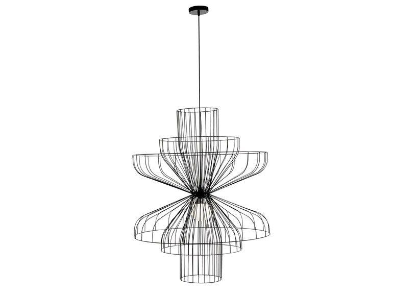 Lámpara diseño en ITALIA acero PARACHUTE by ROSET colgante rdthCsxQ