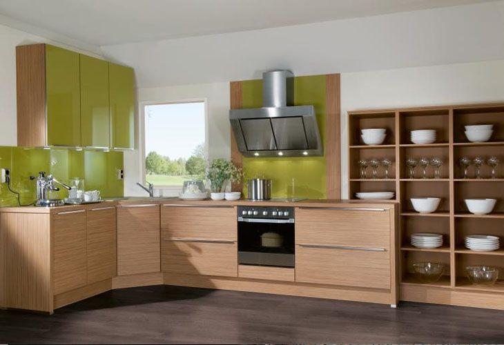 Küche in Grün #Eckküche wwwdyk360-kuechende Grüne Küchen - küchenzeile kleine küche