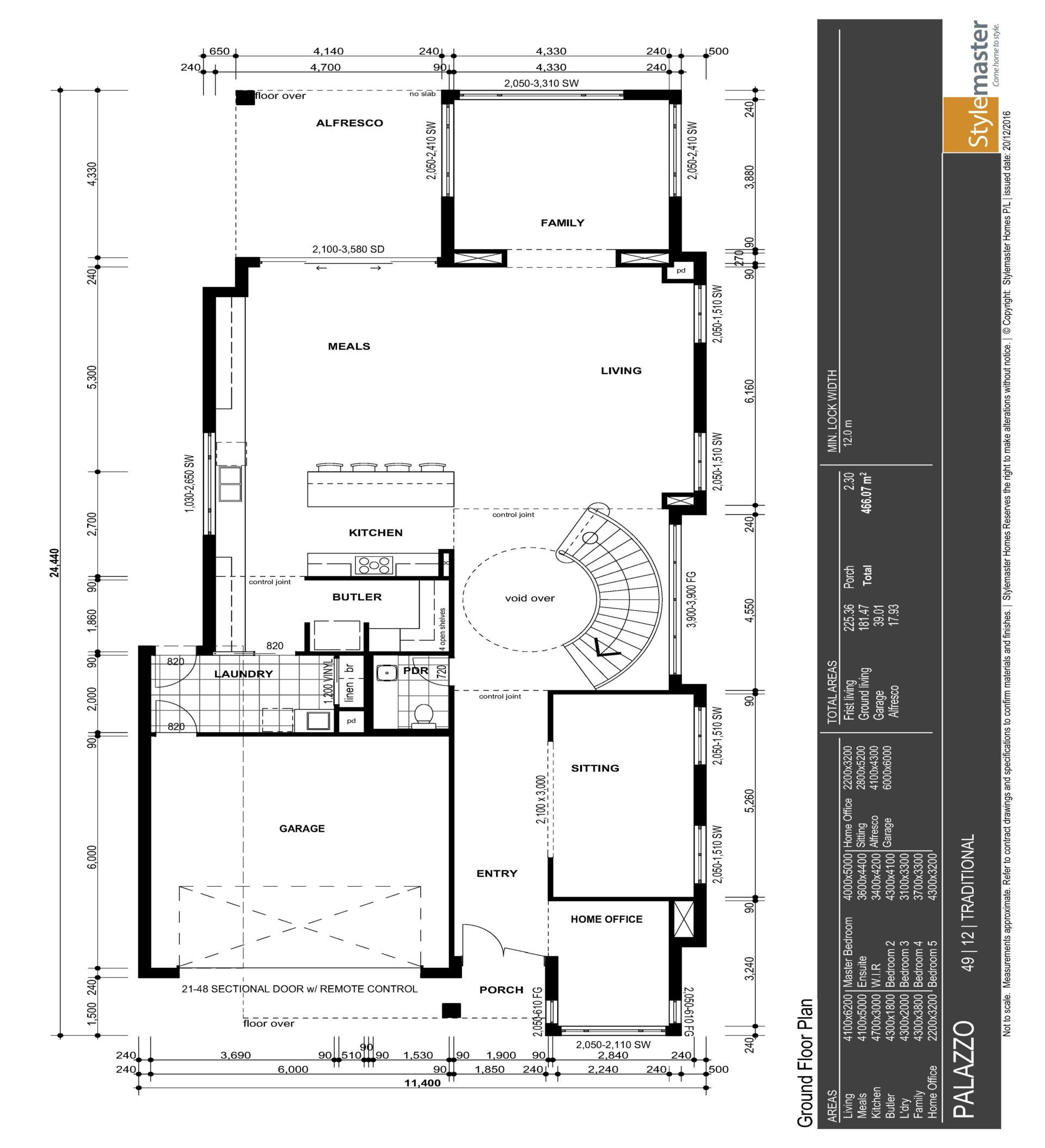 Palazzo 49 Stylemaster Homes Family plan, House plans