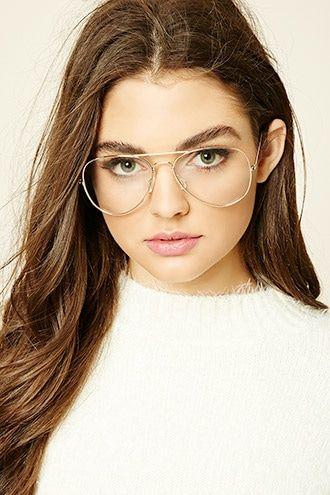 3cadde9468 Lente para Leer Aviador | tumblr hipster | Lentes de moda transparentes,  Lentes mujer 및 Lentes oftalmicos